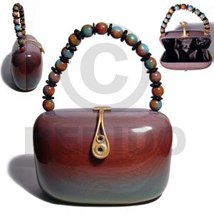 Wholesale Philippines Wooden Acacia Bags Bedido Crafts